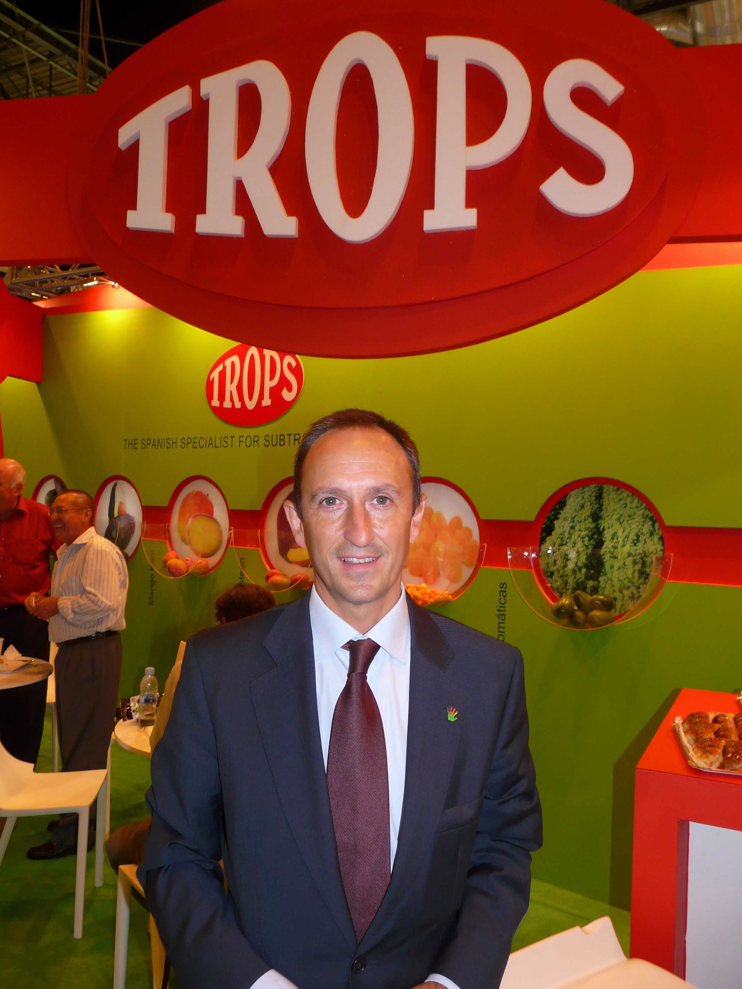 Enrique Colilles from Andalusian avocado and mango producer Trops